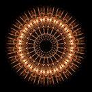 Fireworks Mandala by Michael Matthews