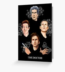 long live the Doctor Greeting Card
