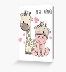 Etsy Slime Best Friends Kids Review Greeting Card