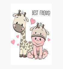 Etsy Slime Best Friends Kids Review Photographic Print