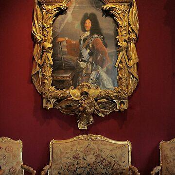 """Un Amour de Chenonceau """" Salon Louis XIV  (3)(h)  décembre 2017 par Olavia-Olao & Okaio Créations by caillaudolivier"""