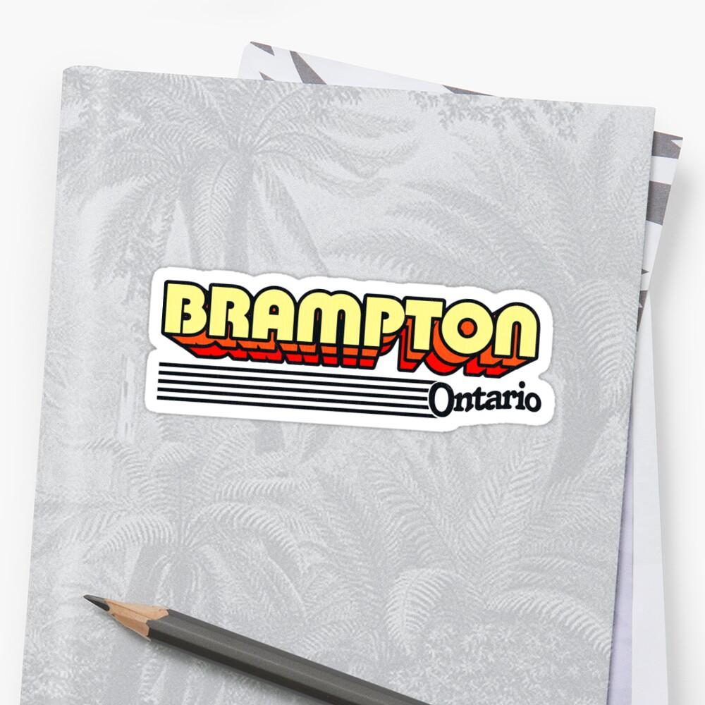 Brampton, Ontario   Retro Stripes by retroready
