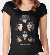 Best Kiss From the Doctor Women's Fitted Scoop T-Shirt