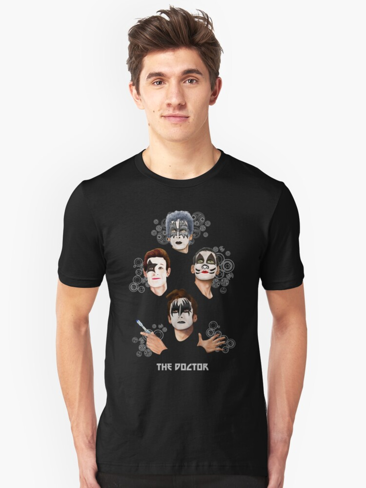 Best Kiss From the Doctor Unisex T-Shirt Front