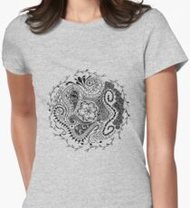 Circle Women's Fitted T-Shirt