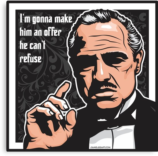 The Godfather by jamieleeart