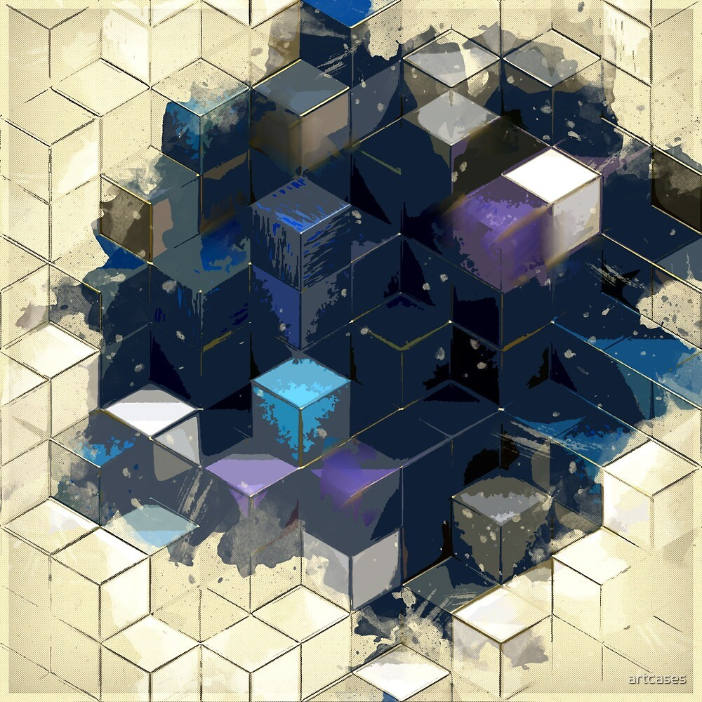 abstract cubes by artcases