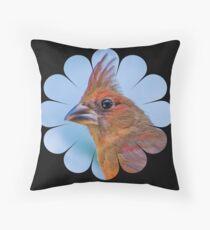 Upsy Daisy Redbird Throw Pillow