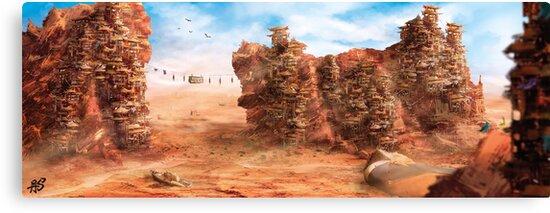 Desert Harbor by AleSmalls