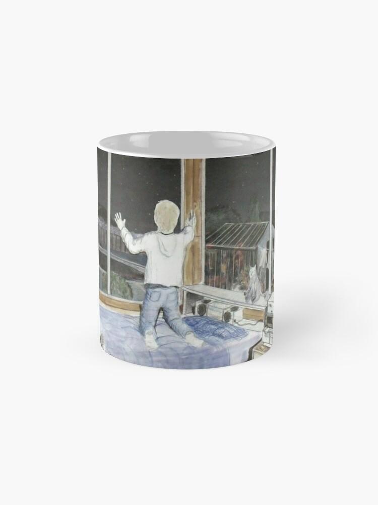 Alternate view of Wondering and Waiting Standard Mug