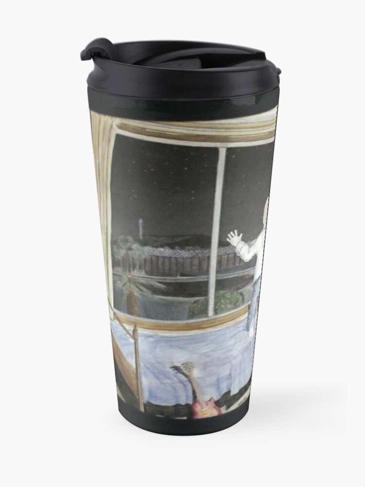 Alternate view of Wondering and Waiting Travel Mug