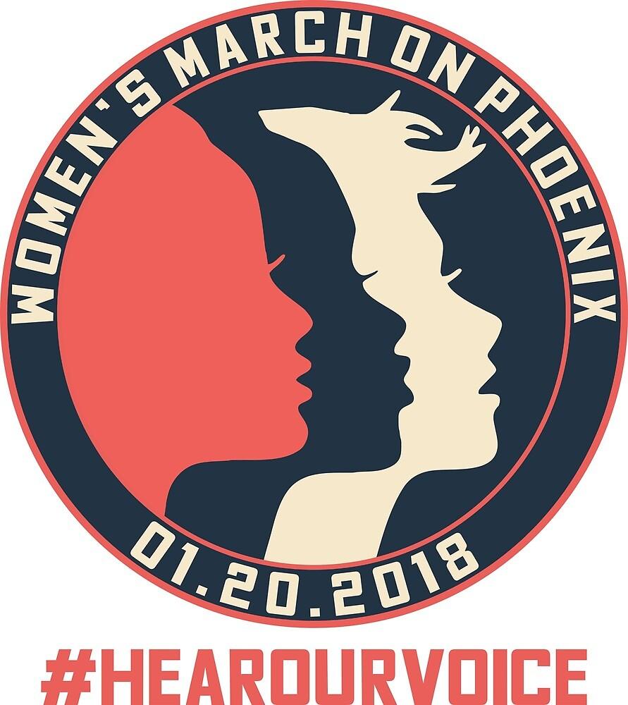 Phoenix Women's March 2018 #Hearourvoice  by yusniah