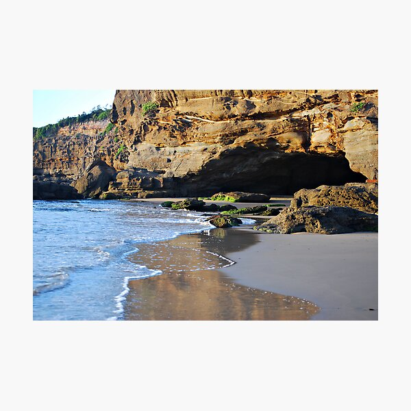 The Caves - Caves Beach Photographic Print
