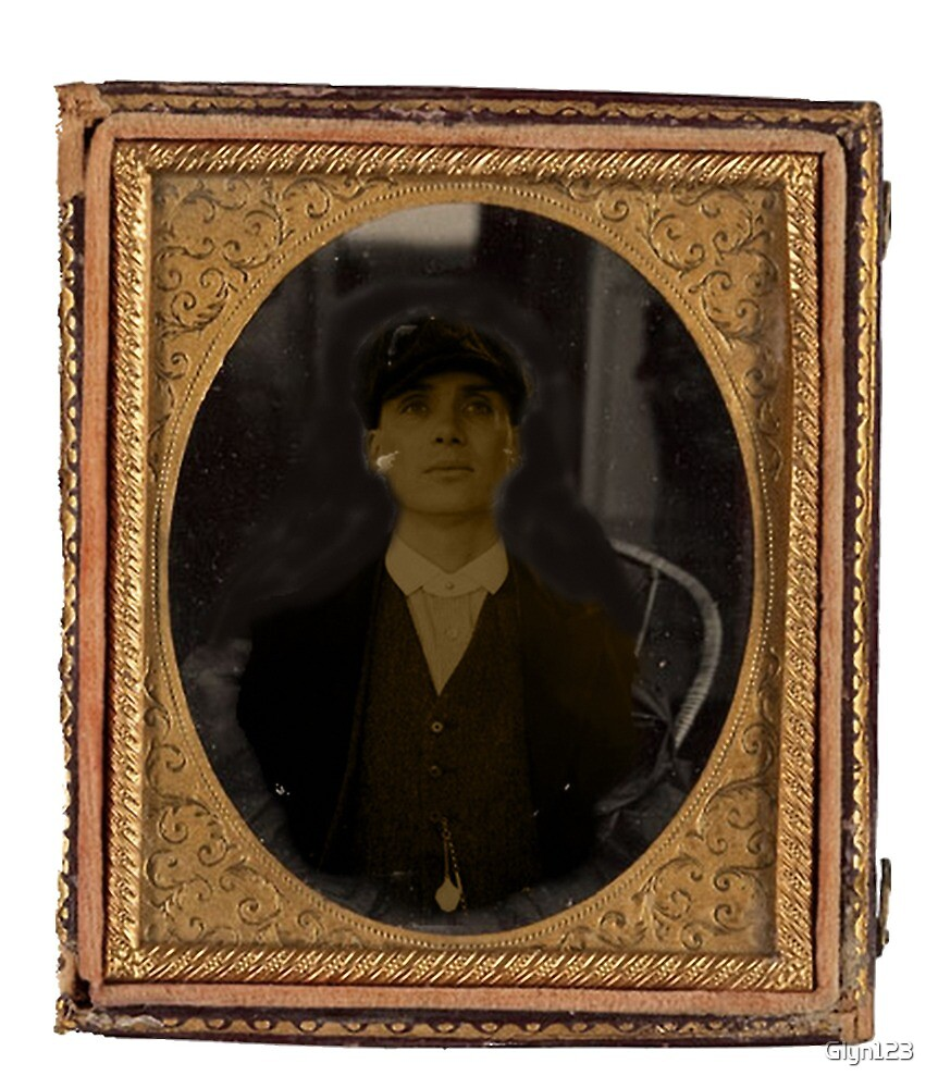 Peaky Blinders Tommy Shelby in Vintage Picture Frame Trending by Glyn123
