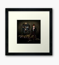 The Legend of the Flute Framed Print