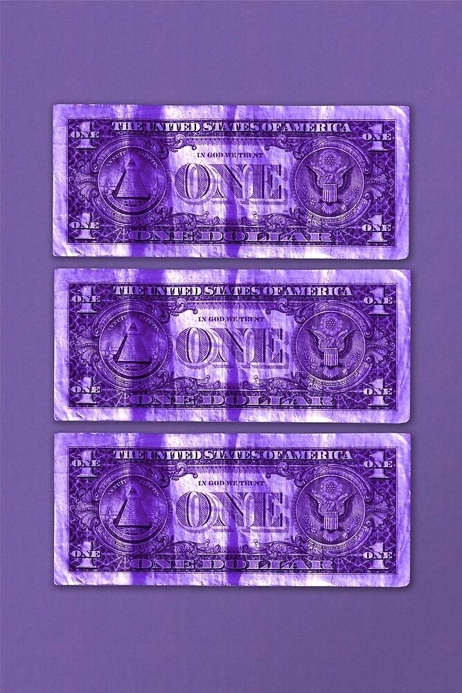 Greenback - 3 Dollar by Hell-Prints