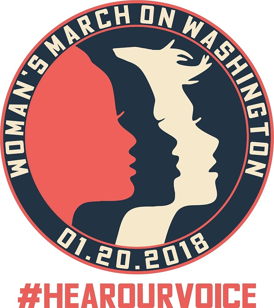 Washington Women's March 2018 #Hearourvoice  by yusniah