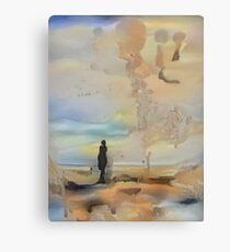 Surreal Desert Canvas Print