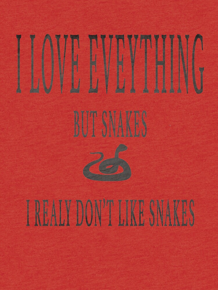 I Don't like Snakes by jhussar