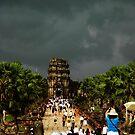 Ankor Wat Storm by oddoutlet