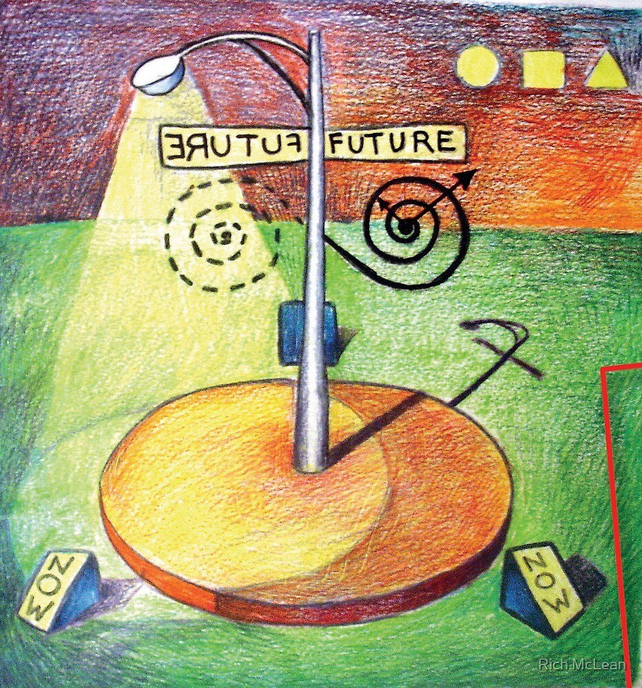 FUTURE / ERUTUF (Time is an Illusion) by Rich McLean