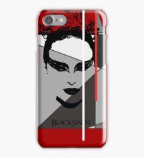 Black Swan Poster iPhone Case/Skin