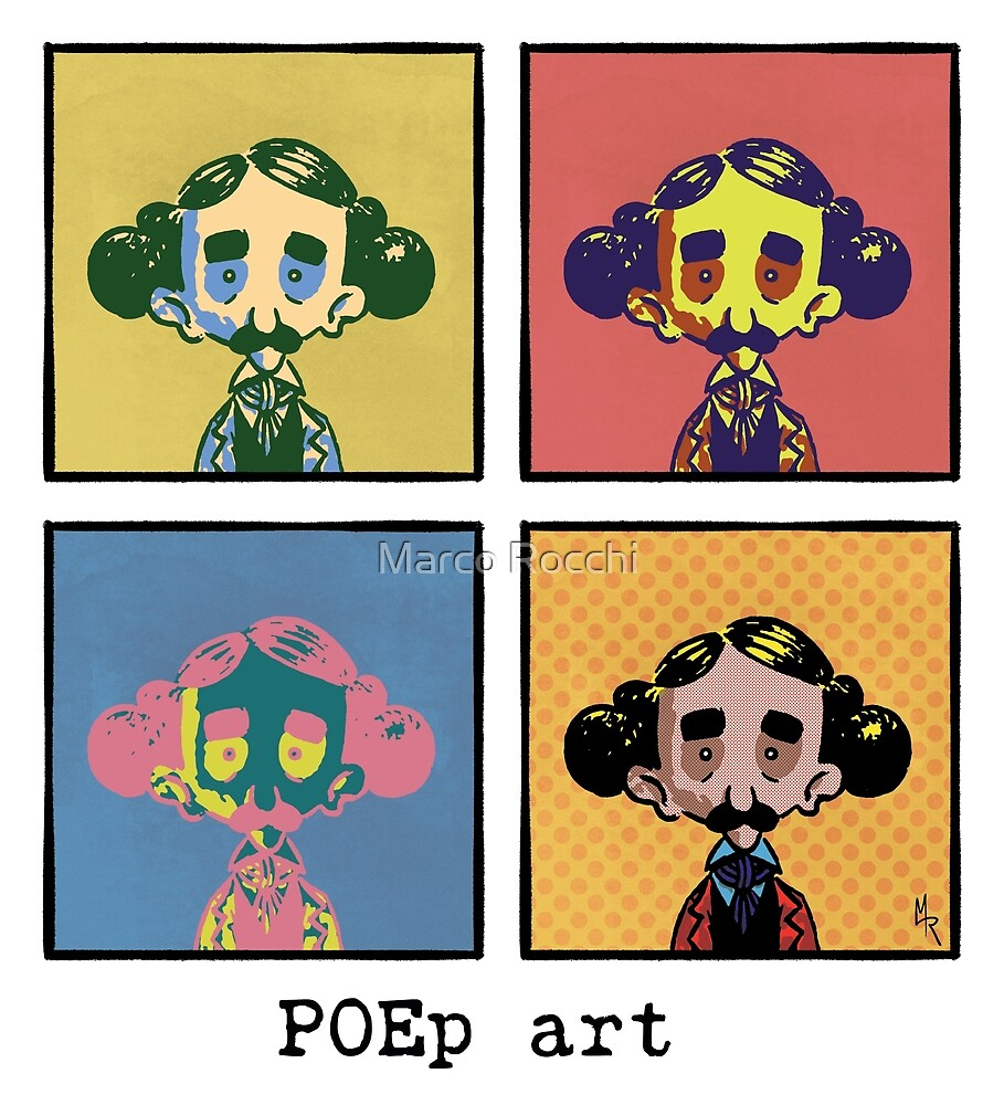 POEp art - POErtraits Collection by Marco Rocchi
