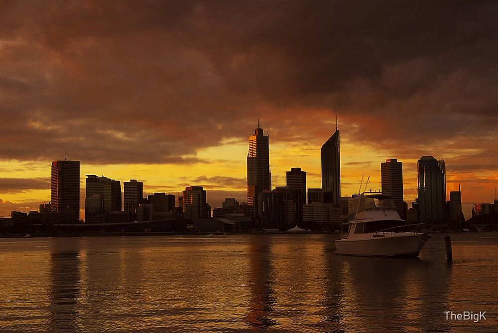Sunset Storm by TheBigK