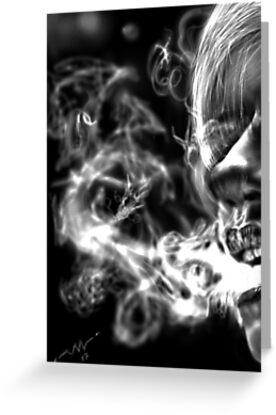 Dragon smoke by atlasartsn