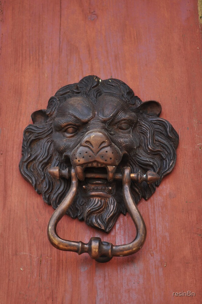 Old Kilmore Jail Door Knocker by resin8n