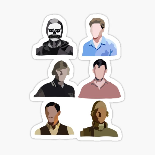 L'évolution d'Evan Peters Sticker