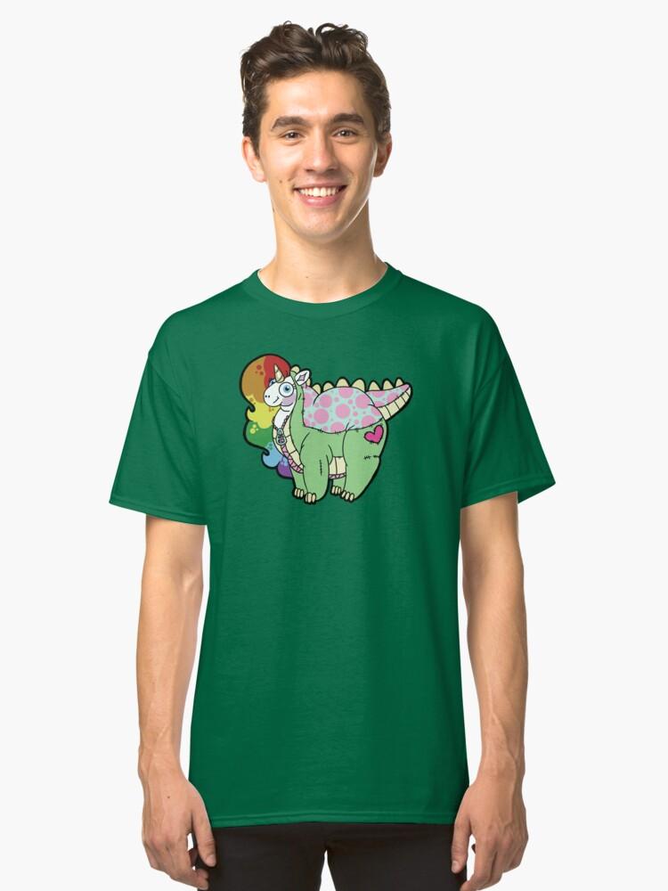 Chubbosaurus Classic T-Shirt Front