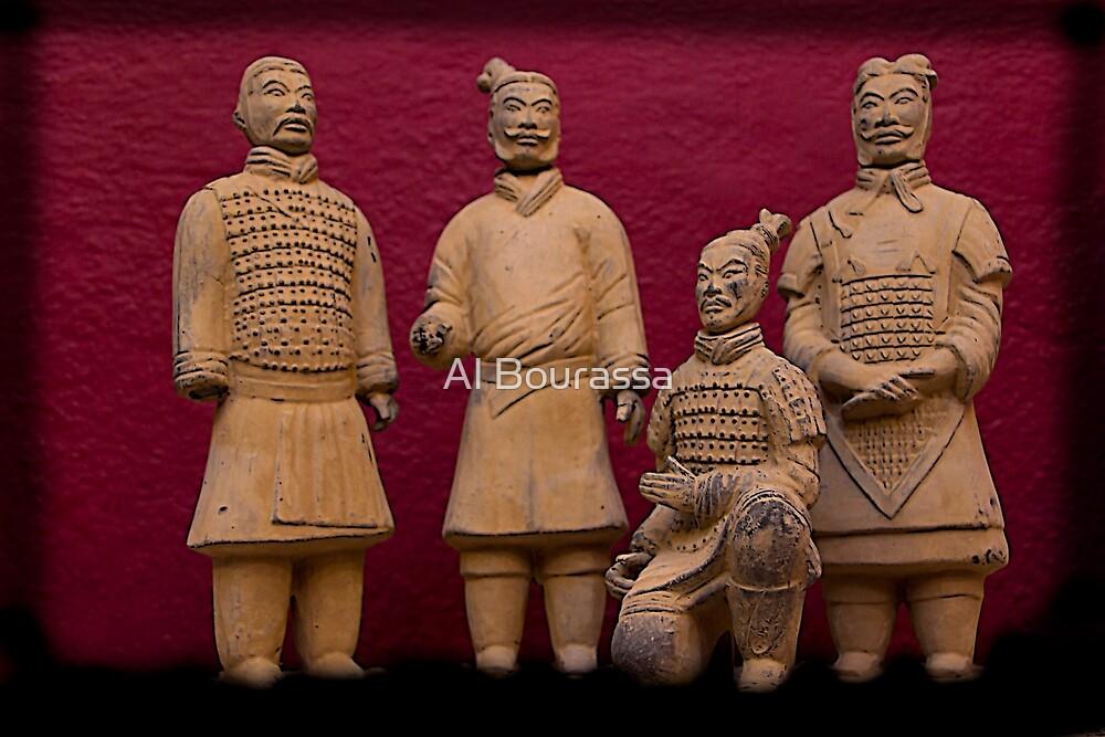 Terracotta Army III by Al Bourassa