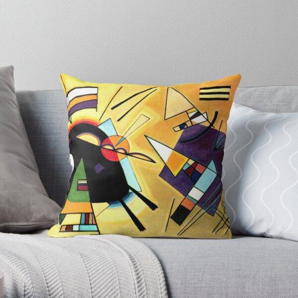 Vassily Kandinsky Noir et Violet 1923 Coussin