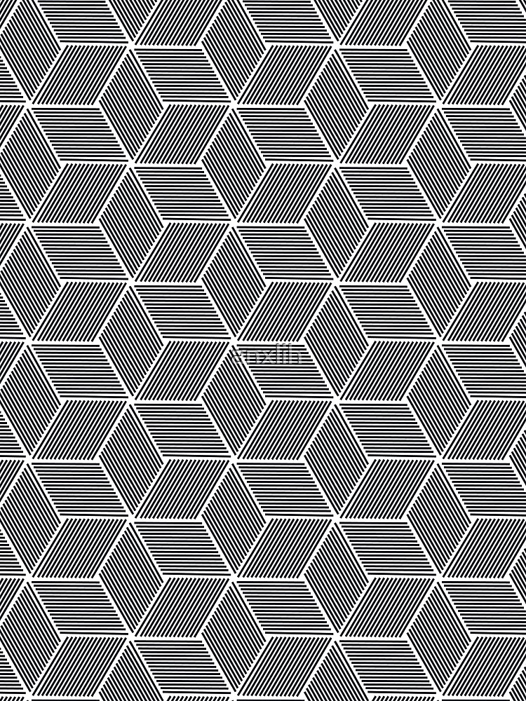 Cube Pattern 1 by anxlih