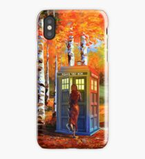 13th Doctor is Coming oil paintings iPhone Case/Skin