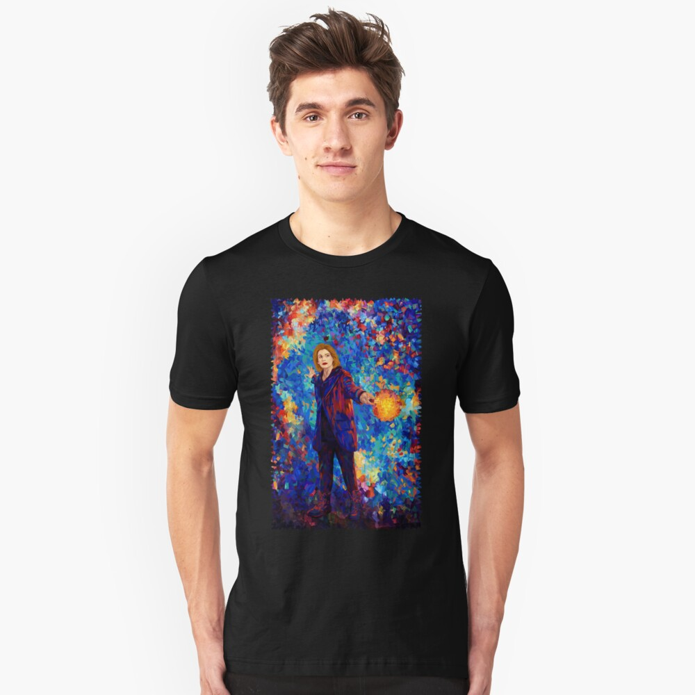 13th doctor Abstract Unisex T-Shirt Front