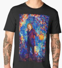 13th doctor Abstract Men's Premium T-Shirt