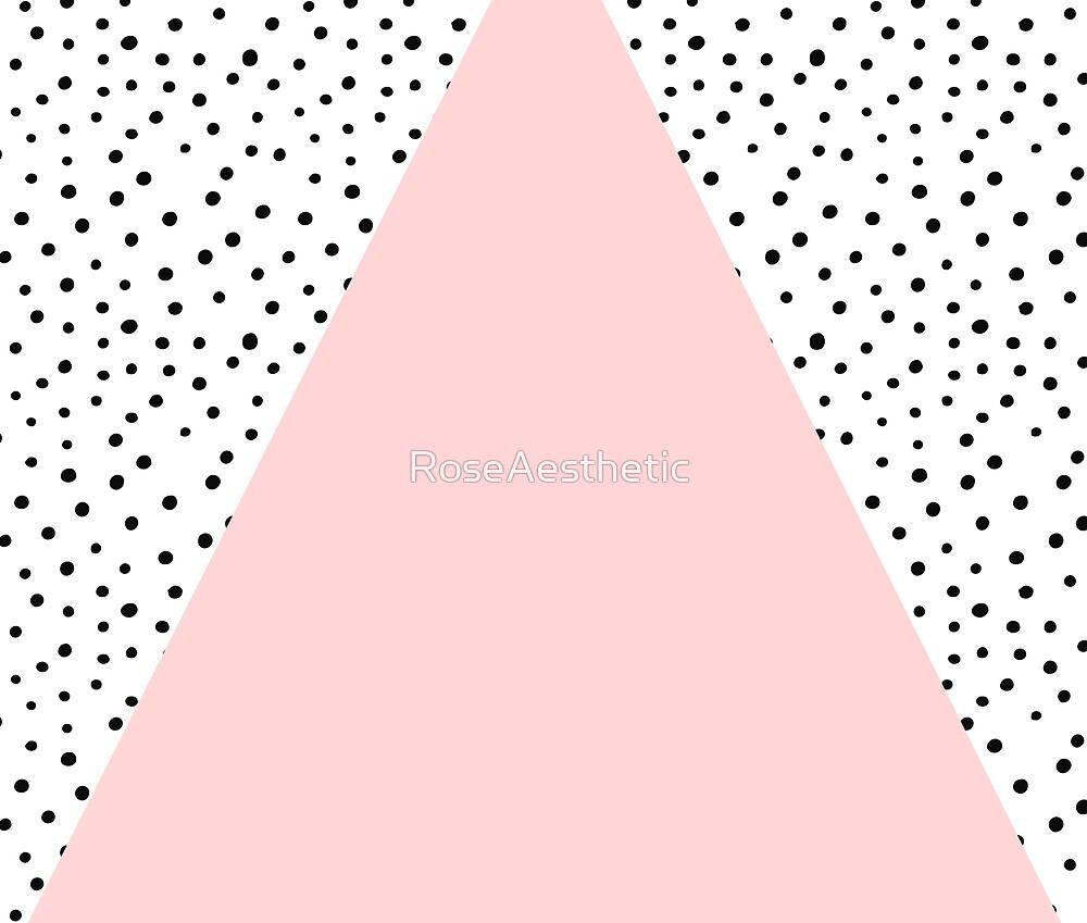 Gentle Scandinavian geometric blush by RoseAesthetic