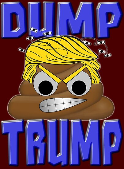 DUMP TRUMP by Paparaw