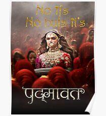 No ifs, No buts, its Padmaavat - Hindi  Poster