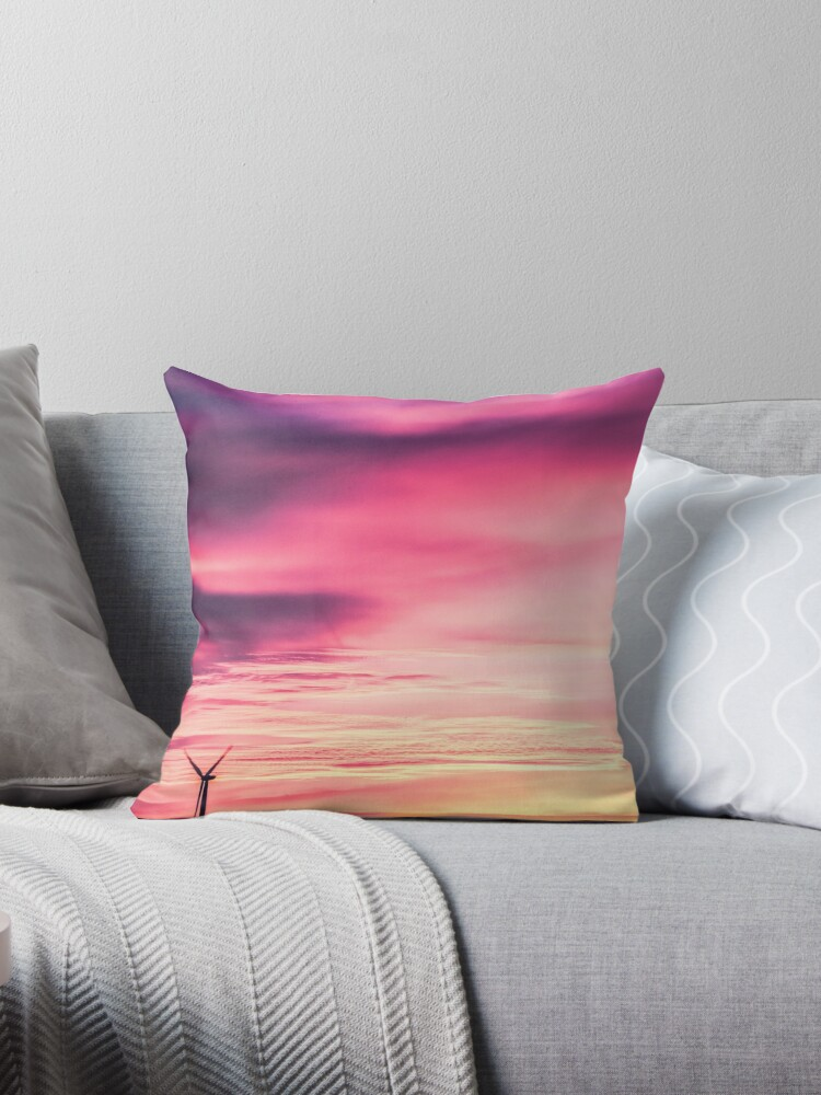 Pink Sunset by Kreativation