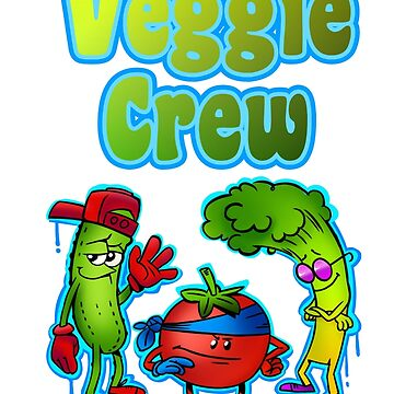 Funny Vegetables Crew by Shirteesy