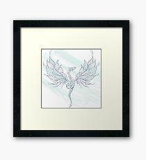 Patterned Flying Dragon Framed Print