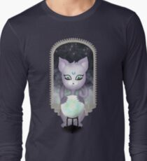 Mystic Miku | Crystal Ball & Zodiac | Teal Long Sleeve T-Shirt