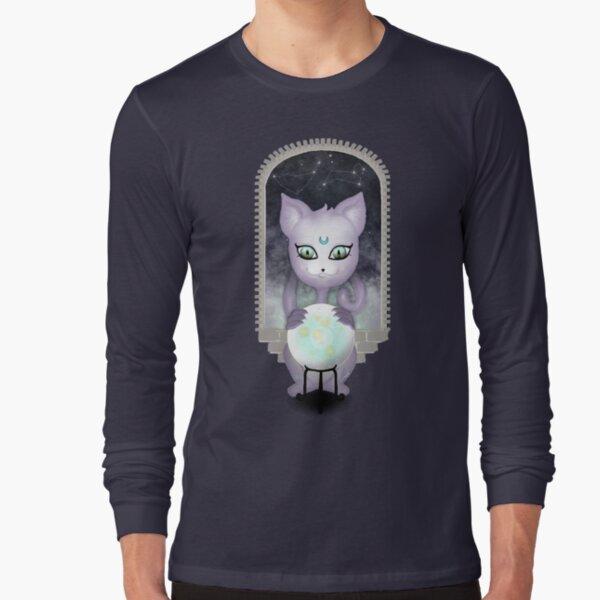 Mystic Miku | Crystal Ball & Zodiac | Teal Long Sleeve T-Shirt