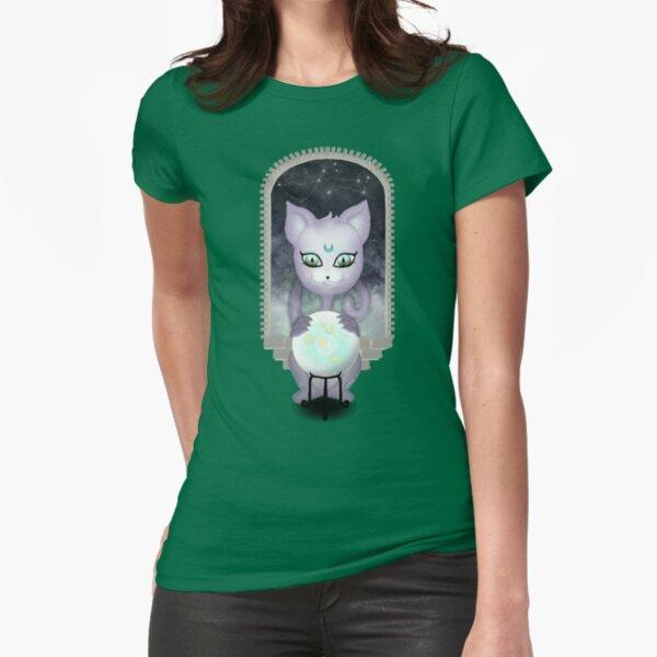 Mystic Miku   Crystal Ball & Zodiac   Teal Fitted T-Shirt