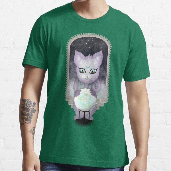 Mystic Miku   Crystal Ball & Zodiac   Teal Essential T-Shirt