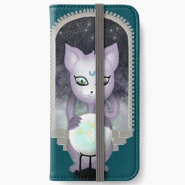 Mystic Miku | Crystal Ball & Zodiac | Teal iPhone Wallet