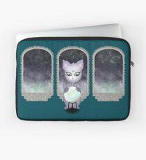 Mystic Miku | Crystal Ball & Zodiac | Teal Laptop Sleeve